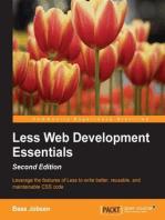 Less Web Development Essentials - Second Edition