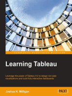 Learning Tableau