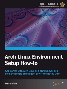 Arch Linux Environment Setup How-to