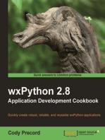 wxPython 2.8 Application Development Cookbook