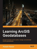 Learning ArcGIS Geodatabases