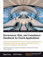 Governance, Risk, and Compliance Handbook for Oracle Applications