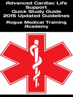 Advanced Cardiac Life Support Quick Study Guide 2015 Updated Guidelines