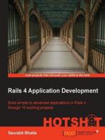 Rails 4 Application Development HOTSHOT