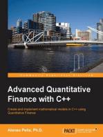 Advanced Quantitative Finance with C++