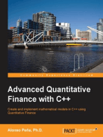 Advanced Quantitative Finance with C++