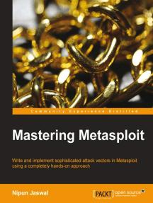 Mastering Metasploit by Nipun Jaswal - Book - Read Online
