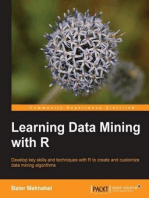 Learning Data Mining with R