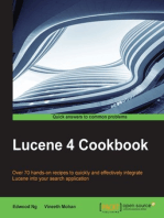 Lucene 4 Cookbook