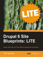 Drupal 6 Site Blueprints