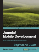Joomla! Mobile Development Beginner's Guide