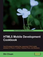 HTML5 Mobile Development Cookbook