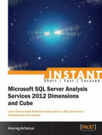 Instant Microsoft SQL Server Analysis Service 2012 Dimensions and Cube