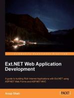Ext.NET Web Application Development