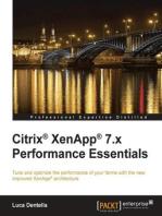 Citrix® XenApp® 7.x Performance Essentials