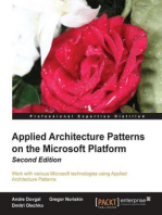 Applied Architecture Patterns on the Microsoft Platform Second Edition