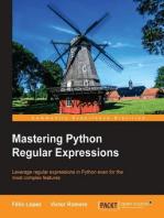 Mastering Python Regular Expressions