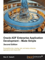 Oracle ADF Enterprise Application Development – Made Simple