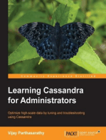 Learning Cassandra for Administrators
