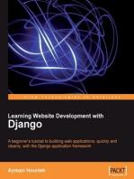 Learning Website Development with Django
