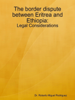 The Border Dispute Between Eritrea and Ethiopia - Legal Considerations
