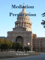 Mediation Preparation