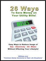 26 Ways to Save on Your Utility Bills!