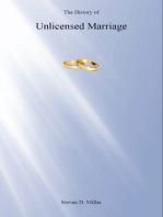 The History of Unlicensed Marriage