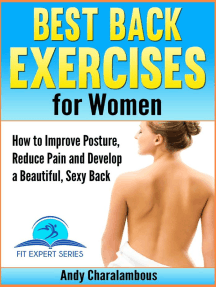 Best Back Exercises for Women - Improve Posture, Reduce Pain & Develop a Beautiful, Sexy Back: Fit Expert Series, #11