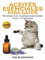 Aceites esenciales para gatos