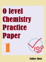 O Level Chemistry Practice Papers 1