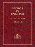 Sichos In English, Volume 2