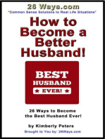 How to Become a Better Husband (26 Ways, #8)