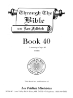 Through the Bible with Les Feldick, Book 40
