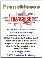 Franchisees (CSTI Business Training, #1)