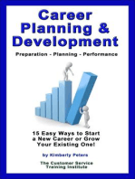 Career Planning & Development (Customer Service Training Series, #10)