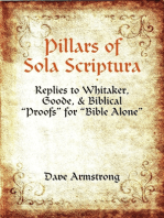 Pillars of Sola Scriptura