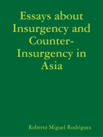 Essays About Insurgency and Counter-Insurgency in Asia