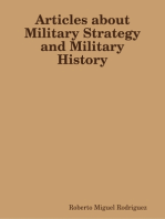 Articles About Military Strategy and Military History