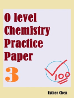 O Level Chemistry Practice Papers 3