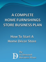 A Complete Home Furnishings Store Business Plan