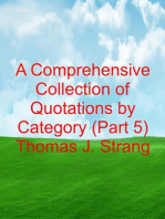 A Comprehensive Collection of Quotations by Category (Part 5)