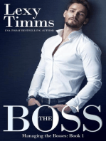 The Boss: Managing the Bosses Series, #1