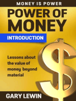 Passive Income: Introduction Power of Money: MONEY IS POWER, #1
