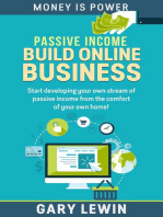 Passive Income :Build Online Business