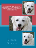 New Improved Great Pyrenees Dog Training and Understanding Guide Book