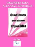 Oraciones para Alcanzar Imposibles