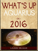 What's Up Aquarius in 2016