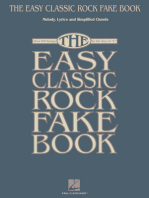 The Easy Classic Rock Fake Book: Melody, Lyrics & Simplified Chords in the Key of C
