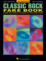 Classic Rock Fake Book - 2nd Edition